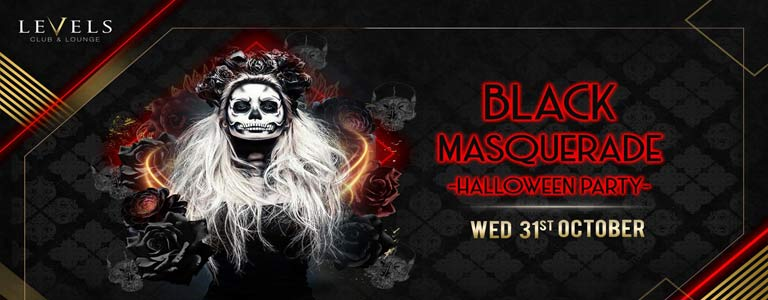 Black Masquerade | Halloween Party