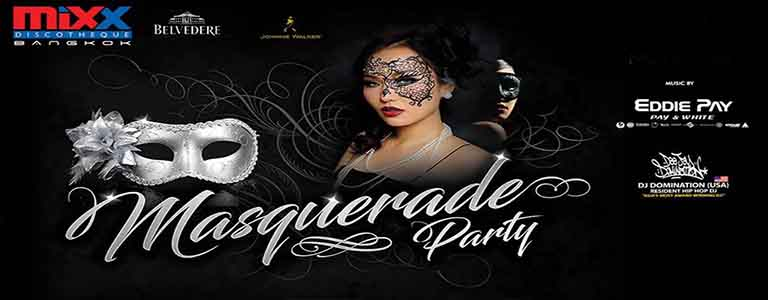 Mixx Discotheque presents Masquerade Party