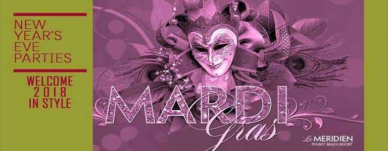 Mardis Gras' New Year's Eve Celebration at Le Meridien Phuket Beach Resort