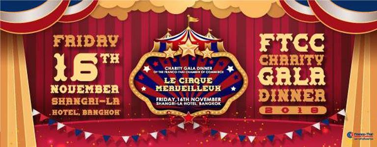 FTCC Charity Gala 2018 « Le Cirque Merveilleux »