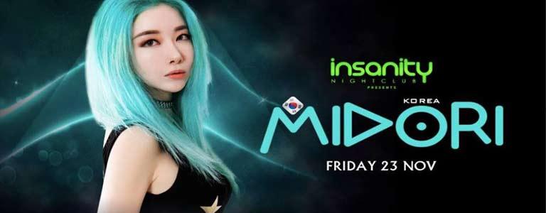 Midori at Insanity Disco Club Bangkok