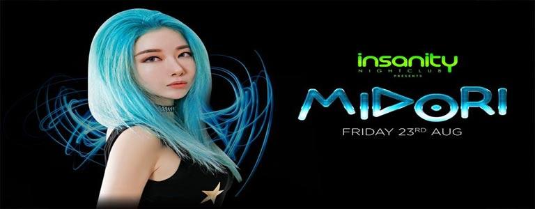 Midori at Insanity Nightclub