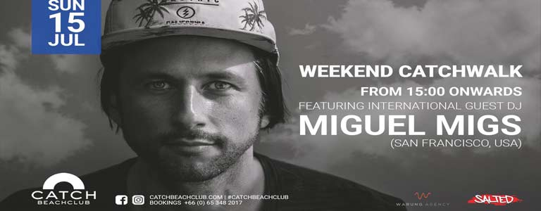 Miguel Migs at Catch Beach Club