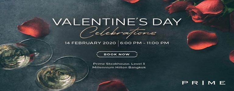 Valentine's Day Celebration at Millennium Hilton Bangkok
