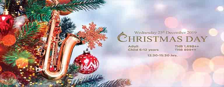 Christmas Day at Centara Grand Mirage