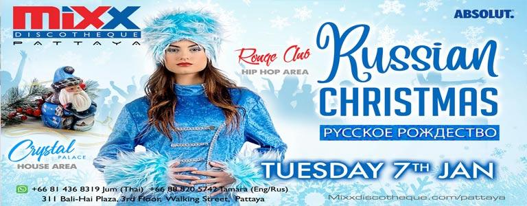 Russian Christmas at Mixx Discotheque Pattaya