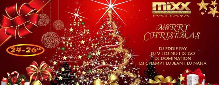 Mixx presents Christmas Parties on 24th-26th December