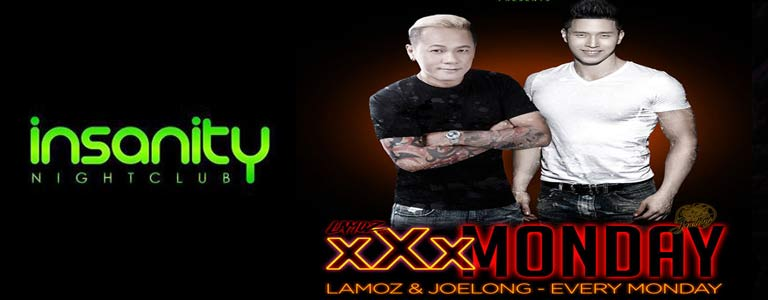 XXX Monday at Insanity Disco Club Bangkok