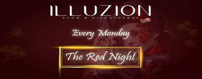 Monday - The Red Night at Illuzion Phuket