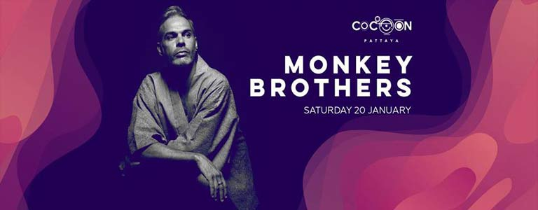 Monkey Brothers at Cocoon Pattaya