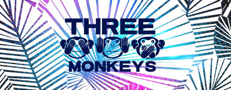Three Monkeys - White Jungle Party at Revolucion Cocktail