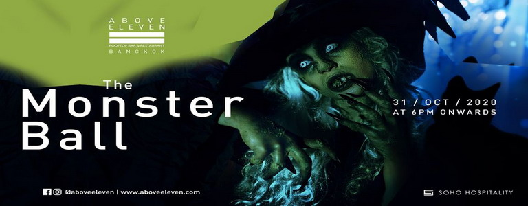The Monster Ball - Halloween Party at Above Eleven