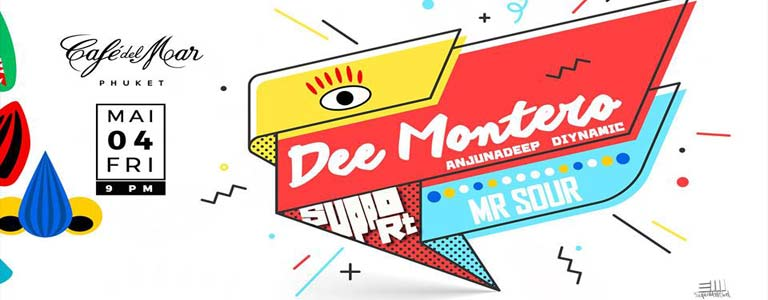 Dee Montero ( Diynamic , Anjunadeep / Ibiza ) at Cafe del Mar