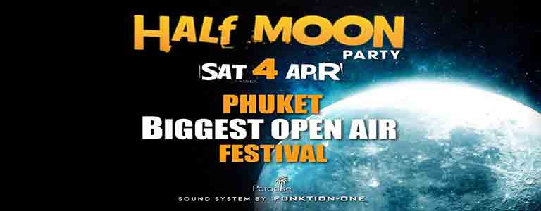 Half Moon Festival at Paradise Beach
