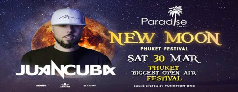 New Moon Festival w/ Juan Cuba at Paradise Beach Club
