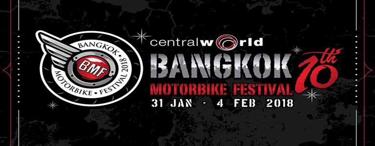 Bangkok Motorbike Festival 2018 Hosted by CentralWorld Bangkok