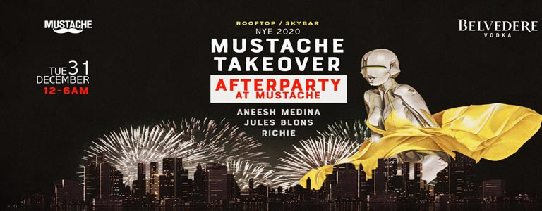 NYE Official After Party at Mustache Bangkok