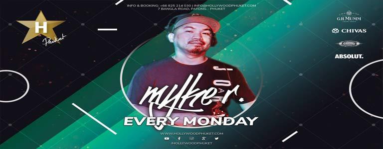 Monday Night w/ Dj Myke R. at Hollywood Phuket