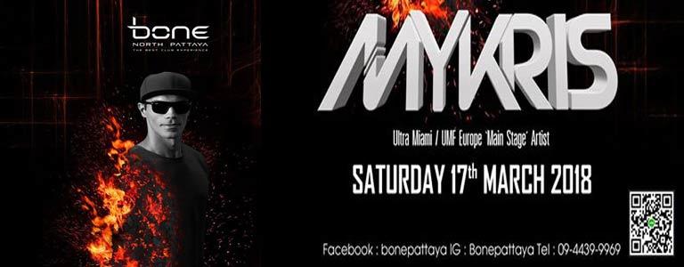 Bone Pattaya Present Ultra Miami Main Stage Dj Mykris