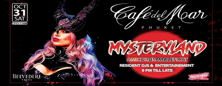 Mysteryland at Café Del Mar Phuket