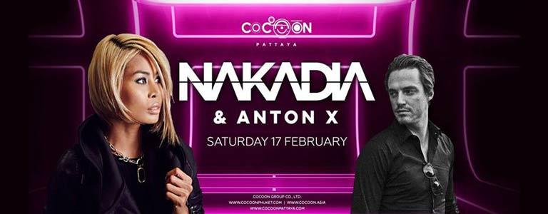 Nakadia & Anton X Live At Cocoon Pattaya