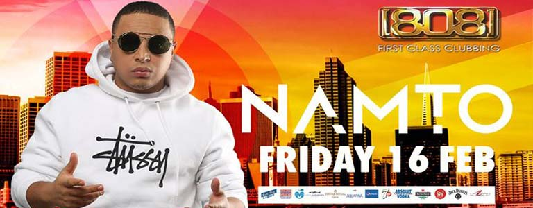 Dj Namto Live at 808 Club Pattaya