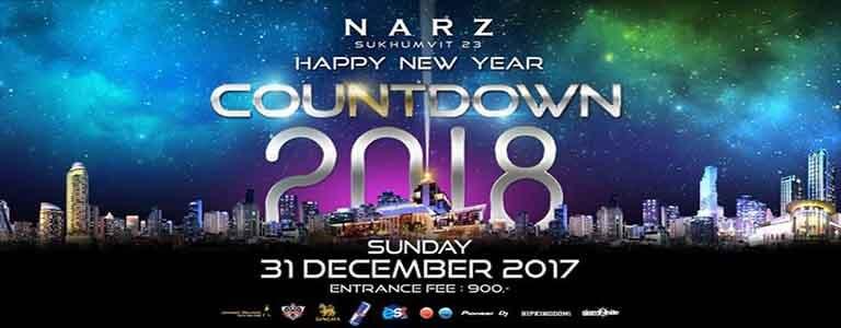 Countdown 2018 Hosted by NARZ Bangkok