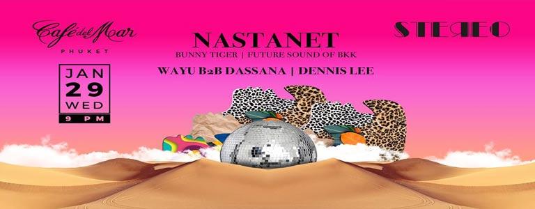 Stereo Wednesday w/ Nastanet at Café del Mar