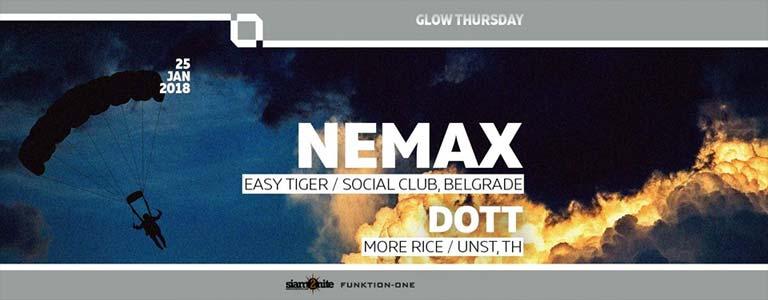 GLOW w/ Nemax, Easy Tiger/Social Club, Belgrade