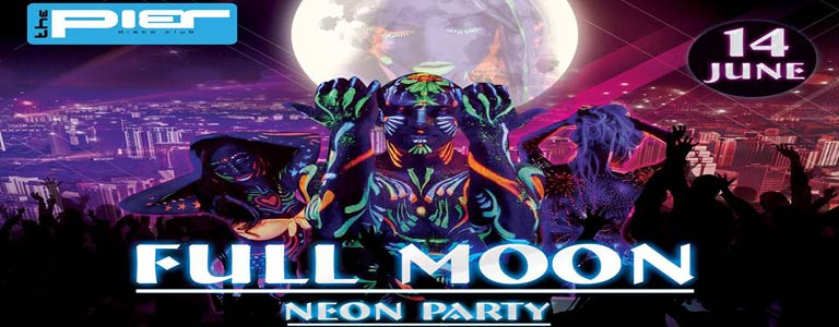 Full Moon Neon Party at The Pier