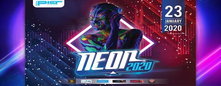 Neon Party 2020 at Pier Pattaya