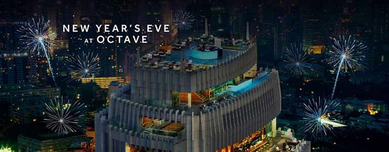 New Year's Eve Hosted by Octave Rooftop Lounge & Bar Bangkok