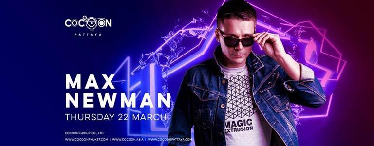 Max Newman Live at Cocoon Pattaya