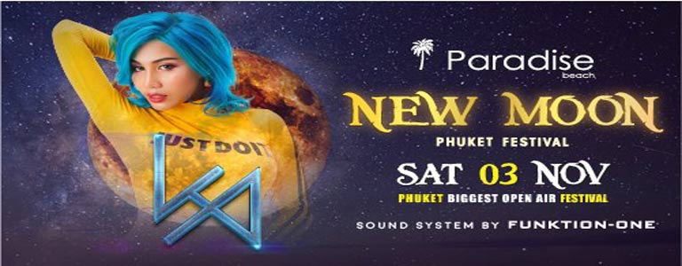 New Moon Festival w/ DJ LP at Paradise Beach