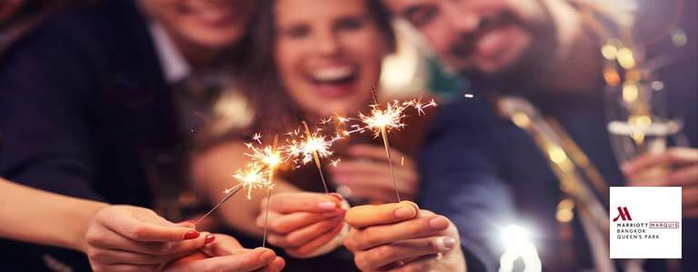 New Year's Eve Countdown at ABar Hosted by Bangkok Marriott Marquis Queen's Park