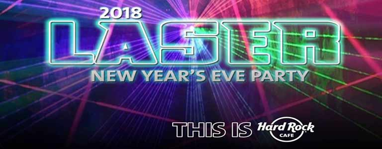 New Year's Eve Party at Hard Rock Cafe Pattaya