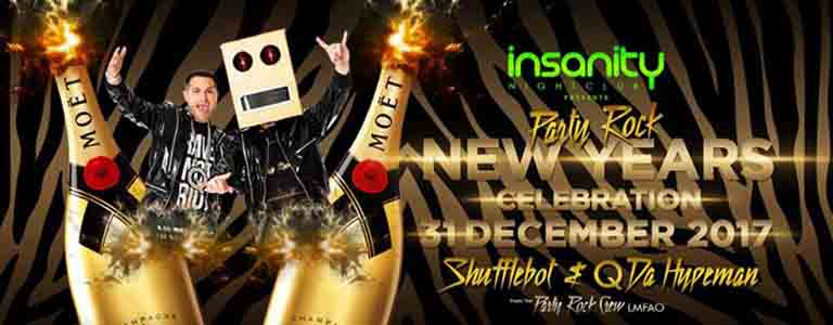 Party Rock New Years Celebration Hosted by Insanity Nightclub Bangkok