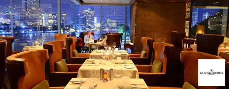 New Year's Day at PRIME Steakhouse Hosted by Millennium Hilton Bangkok