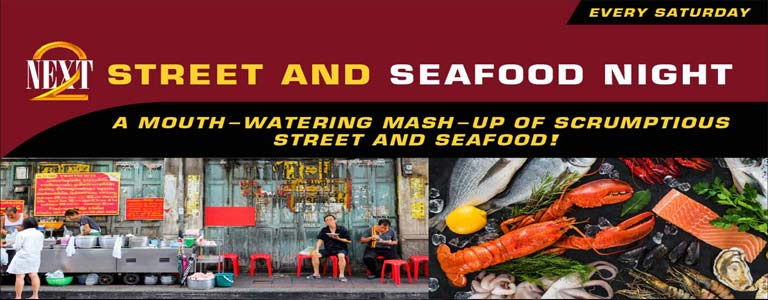 NEXT2 Street and Seafood Night