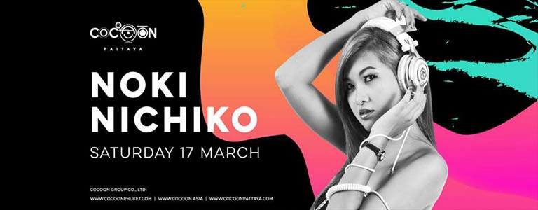 Noki Nichiko Live at Cocoon Pattaya
