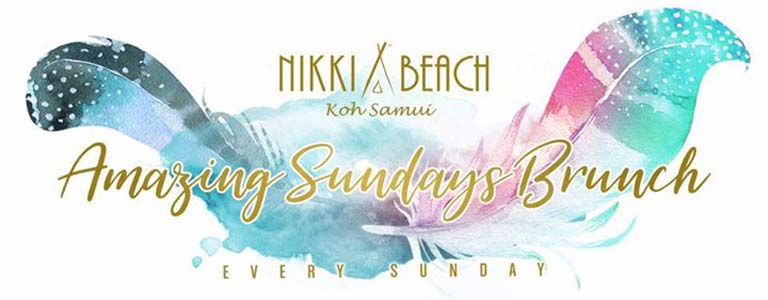 Nikki Beach Rodeo: Amazing Sundays Brunch at Nikki Beach Samui