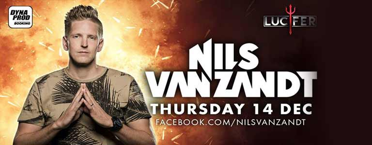 Nils Van Zandt Live at Lucifer Disko Pattaya- Thursday, December 14, 2017 at 10:00 pm