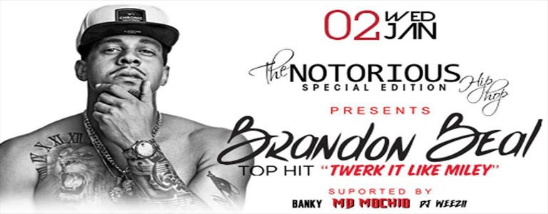 The Notorious Hip-Hop Night w/ Brandon Beal