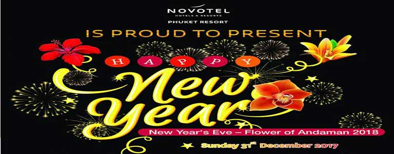 New Year's Eve 2018 at Novotel Phuket Resort
