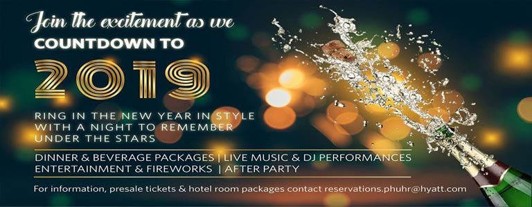 NYE19 at Hyatt Regency Phuket Resort