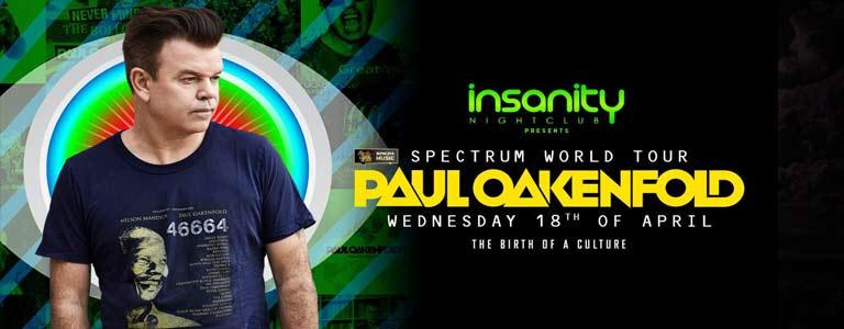 Paul Oakenfold Spectrum World