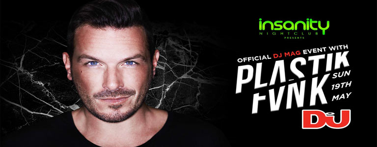 Official DJ MAG event w/ Plastik Funk at Insanity