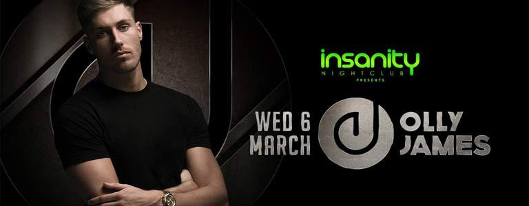 Olly James at Insanity Nightclub