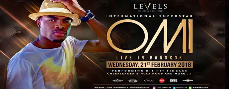OMI Live at Levels Club & Lounge Bangkok