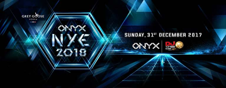 New Year's Eve 2018 at ONYX Bangkok